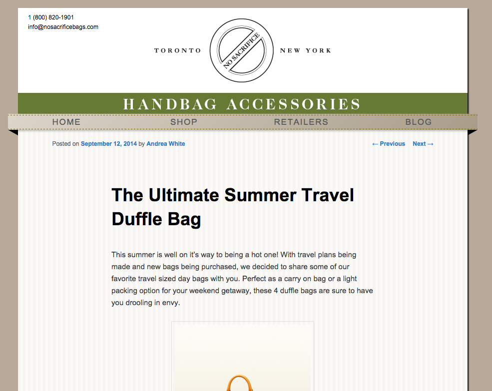 The Ultimate Summer Travel Duffle Bag