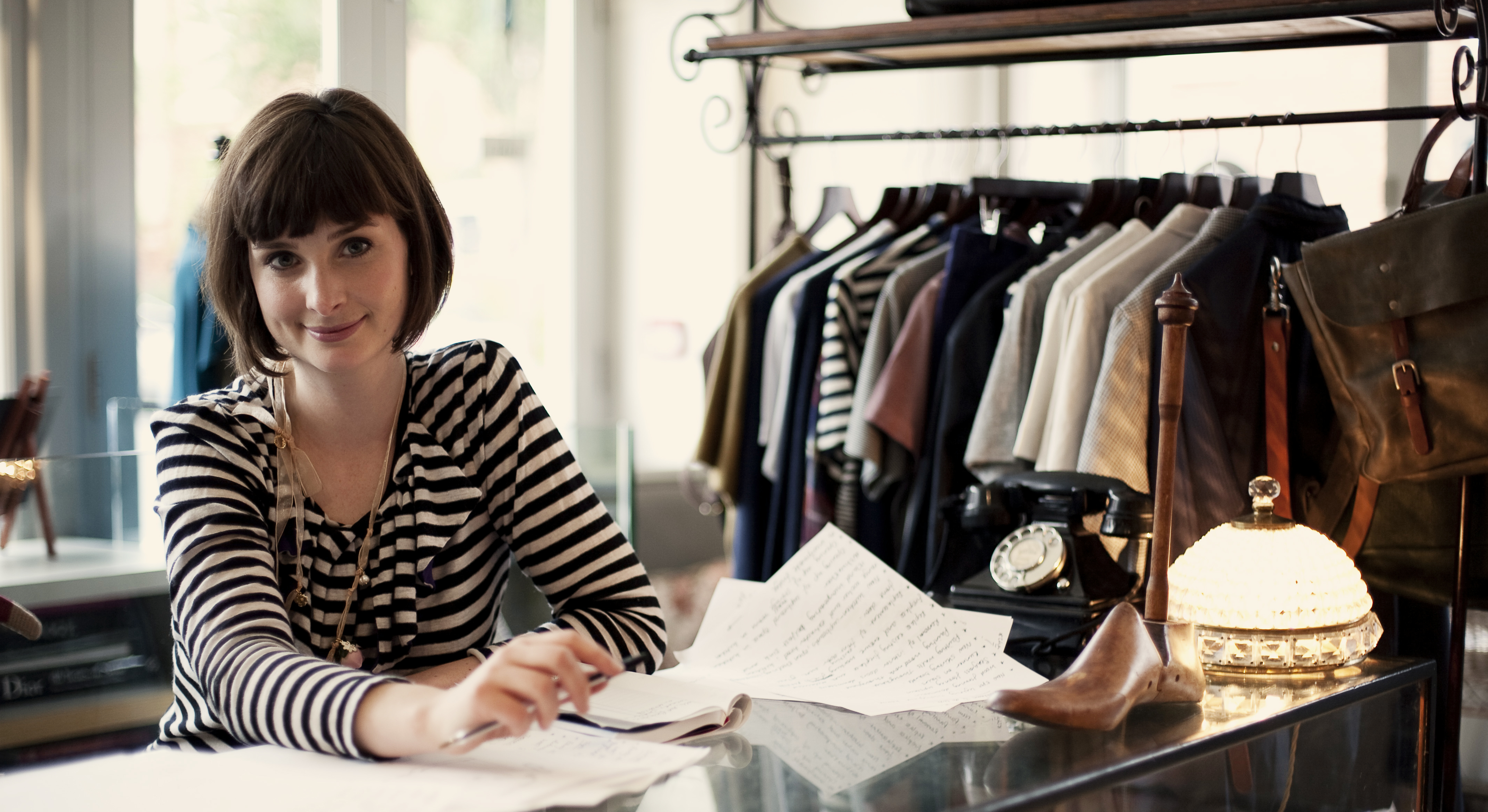 fashion boutique owner