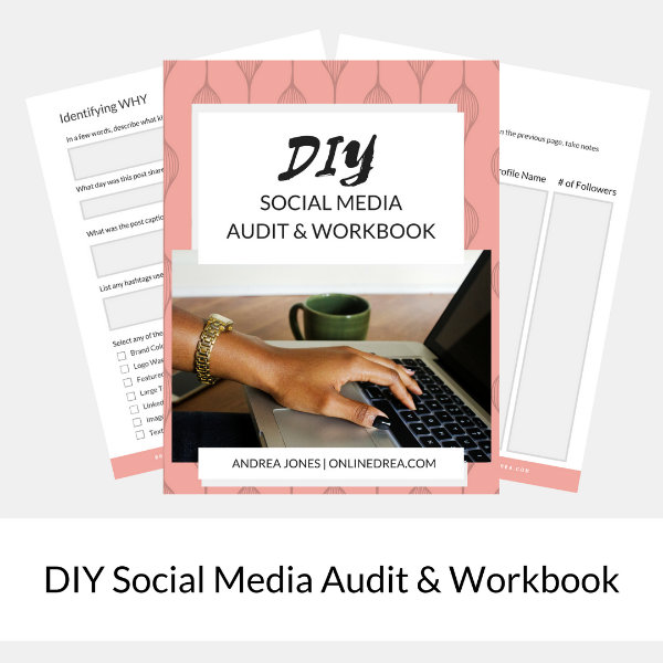 DIY Social Media Audit & Workbook SMALL