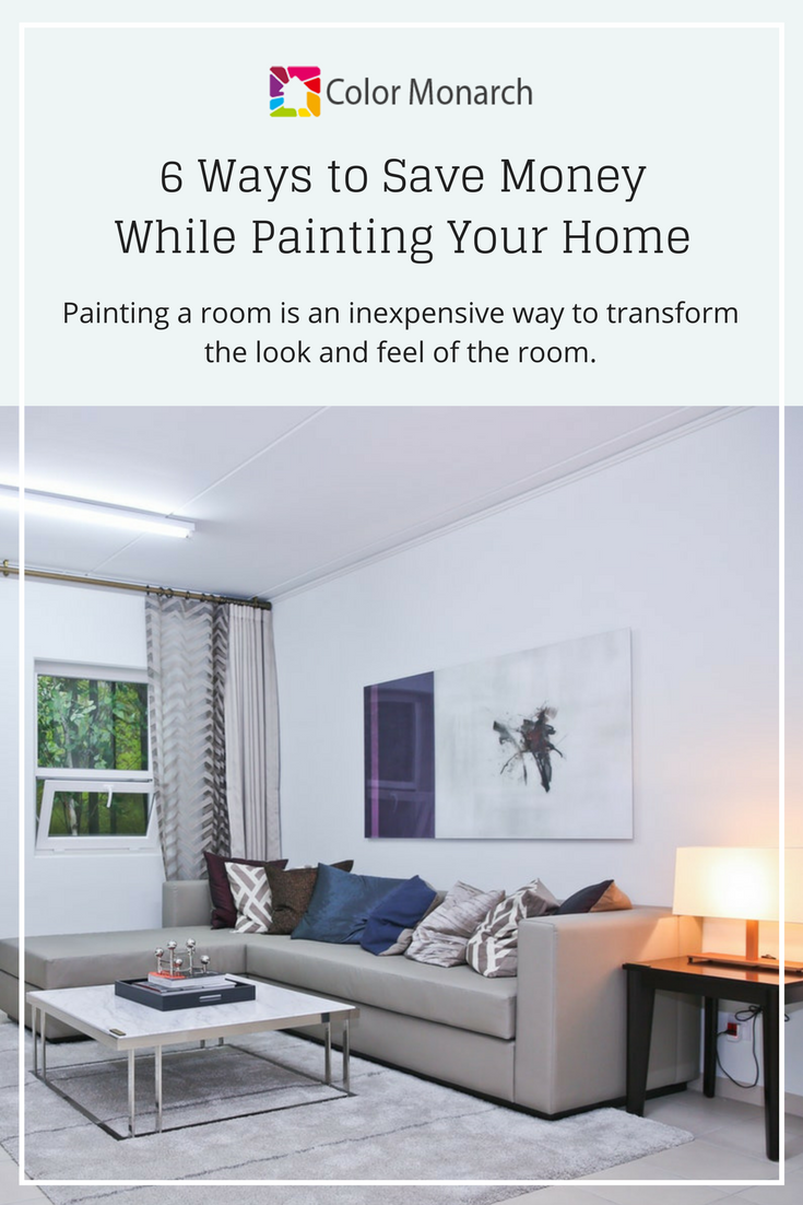 CM 6 ways to save money while painting your home PIN